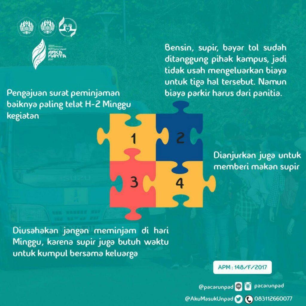 Info Peminjaman Angkutan dan Bus Kampus