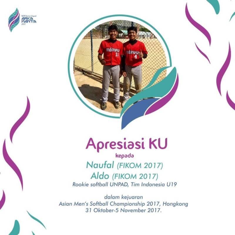 Mahasiswa Unpad Raih Juara 3 dalam Kejuaraan Men's Softball Championship 2017