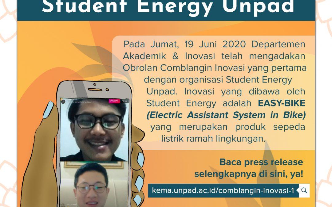 Comblangin Inovasi #1: Ramah Lingkungan dengan Student Energy Unpad
